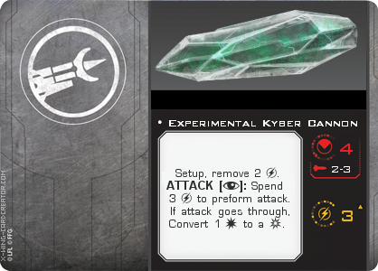 http://x-wing-cardcreator.com/img/published/Experimental Kyber Cannon_MadChemist113_0.png